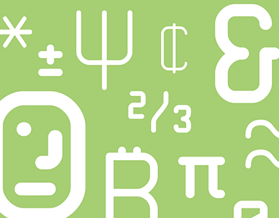 Technical Rounded VP Typeface