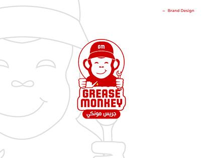 Grease Monkey - Logo & Brand Identity