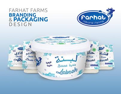 FARHAT Natural Farms | Branding & Packaging Design