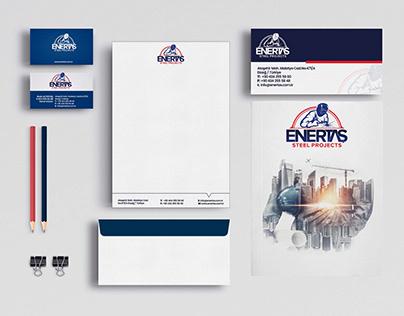 ENERTAŞ Logo ve Kurumsal Kimlik Çalışması