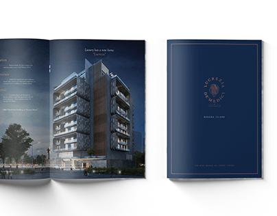 LUCREZIA DE'MEDICI by Sujimoto - Brochure Design
