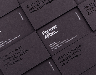 Forever After Design Studio Branding