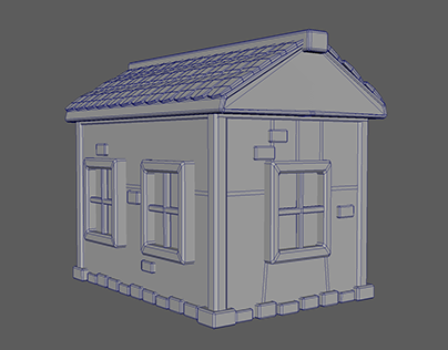 3D Modelling - Peinture De La Vie (Game) - 3D House