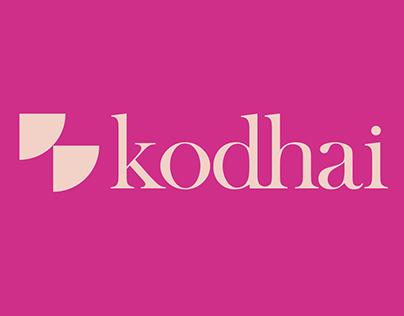 Kodhai   Brand Identity