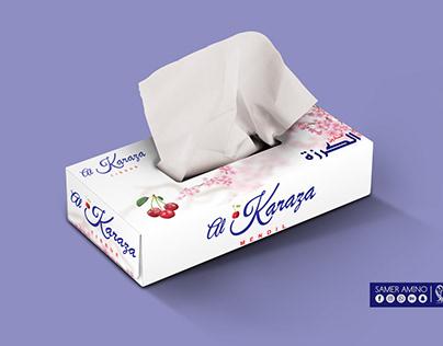 Al-Karaza tissues box