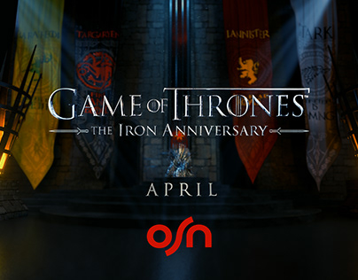 Game of thrones- Irone anniversary