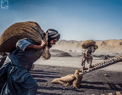 Spenkarez Coal Depot area near Quetta, Pakistan.
