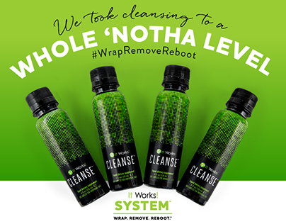 Ad campaign for It Works! Cleanse