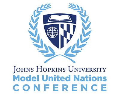 Johns Hopkins Model United Nations Conference Logo