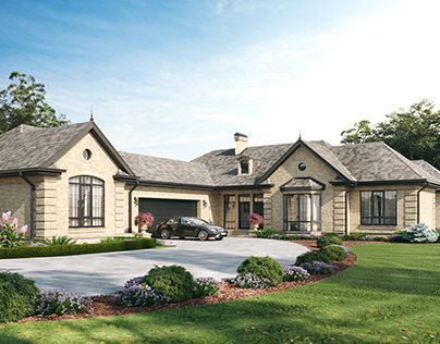 House in classic style