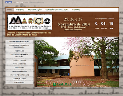 Site layout - Evento MARCO 2014