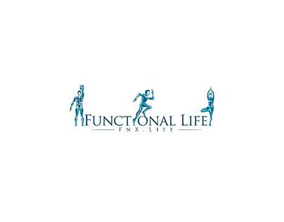 Functional life - logo design.
