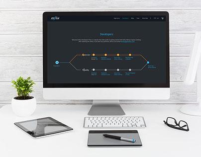 Enflux Web Page Design