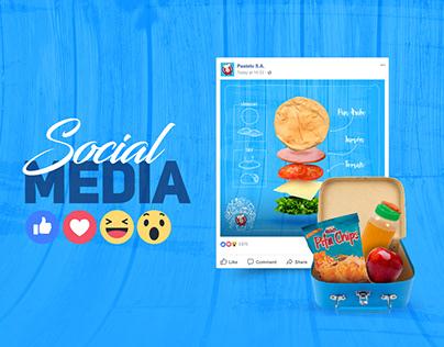 Social Media - Pastelo