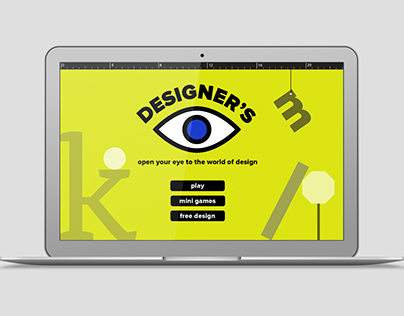 Designer's Eye Game Design