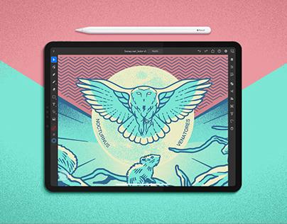 Nocturnus Venatores. Adobe Community Fund