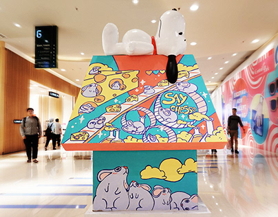 Snoopy CNY (rat) - Catalyst Arts x Central Park Jakarta