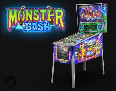 Pincab 3D - Monster Bash