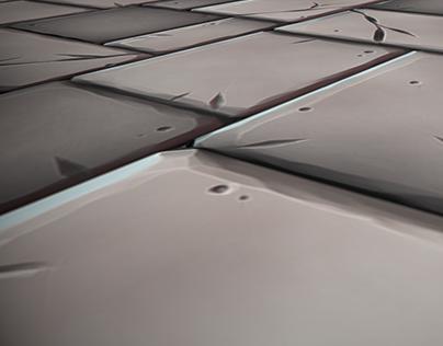 Bricks Stylized Tilling Texture