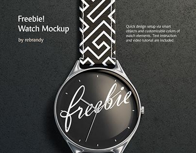 Freebie! Watch Mockup
