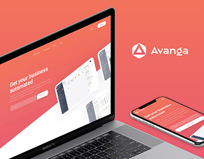 Avanga — Website
