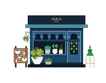 Harla Arts sales channels