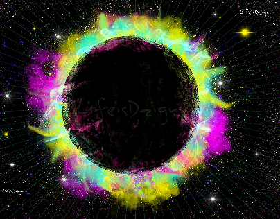 The Funky Solar Eclipse