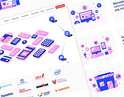 Webkul Website ReDesign - iA, UX and RWD