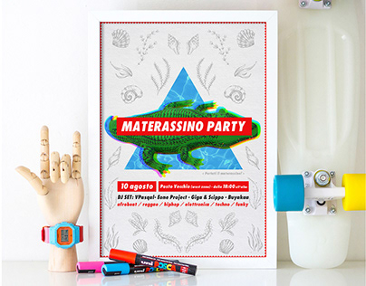 MATERASSINO PARTY | POSTER