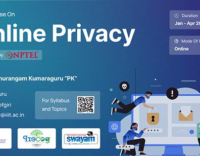 Online Privacy | Graphic Design