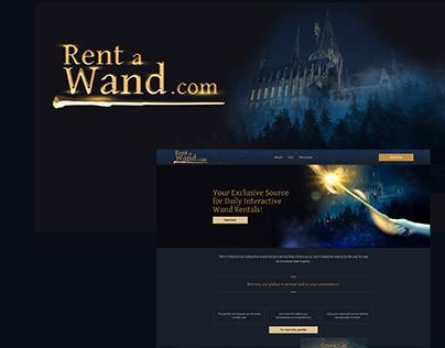 Rent a Wand   Website