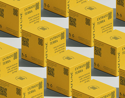 Packaging Design Cafuné Cosmetic
