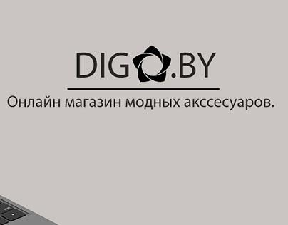 Редизайн интернет магазина.