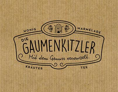Die Gaumenkitzler |brand identity
