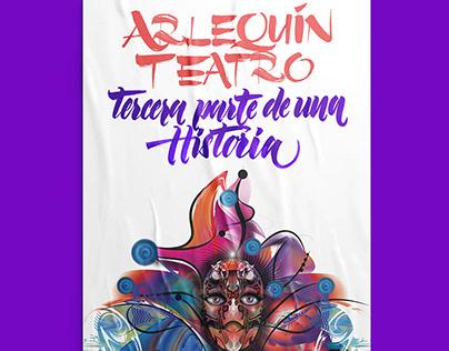 Arlequín Teatro Cover illustration