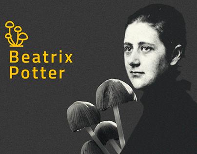 Beatrix Potter- Ilustración Botánica