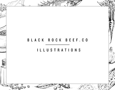 Black Rock Beef || Illustrations