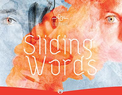 Sliding Words Communication