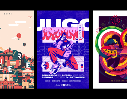 Posters ilustrados 01