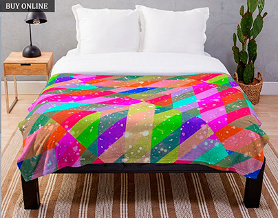 Multicolored Galaxy Print Collection