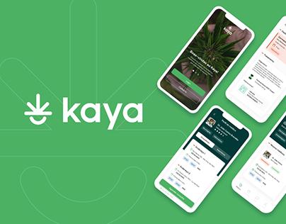 Kaya - Cannabis Medicinal - Projeto de UI