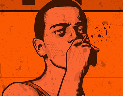 TRAINSPOTTING POSTER :: ILLUSTRATION