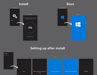 Windows 10 Mobile Set Up