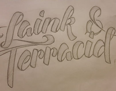 Lettering on paper 2