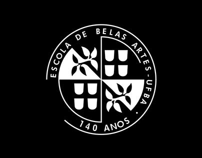 Selo Comemorativo 140 anos EBA - UFBA