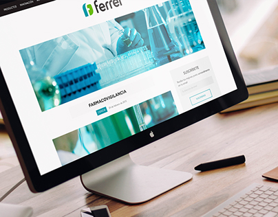 Ferrer Blog Design