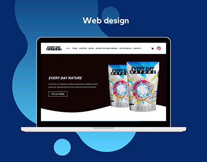 Every day Nature - Web eCommerce