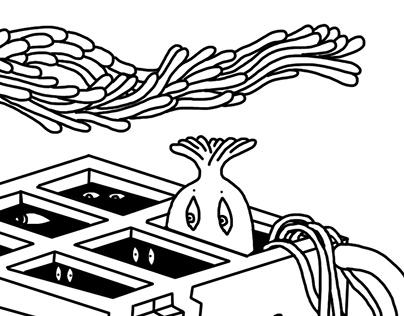 Maze for WEIRDSTORYZZZ. Padik. Issue 4