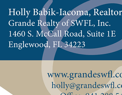 Grande Realty Biz Card