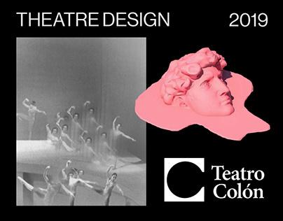 Teatro Colón I Theatre Branding.